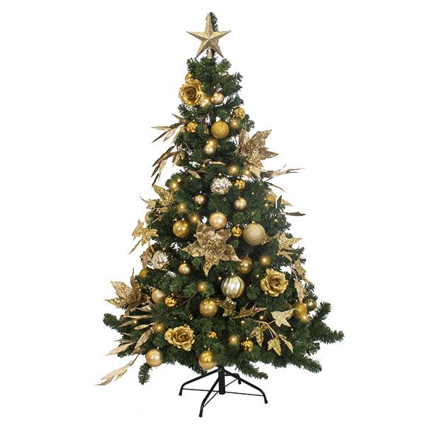 Pure Gold Theme Range - 6ft Tree Pack