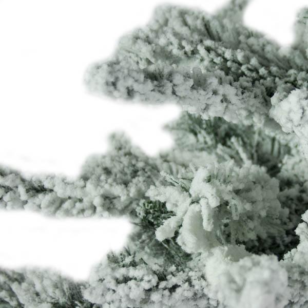 Snowy Alaskan Fir Artificial Christmas Tree - 2.1m (7ft)