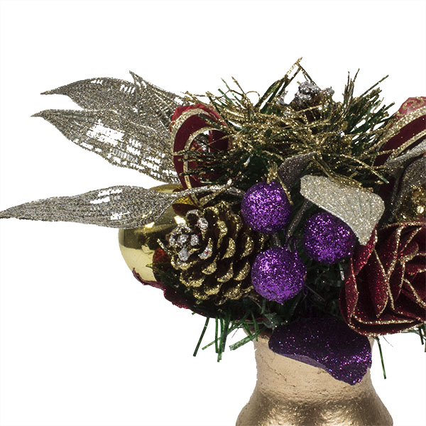 Spiced Wine Christmas Room Decoration Collection - Small Centrepiece