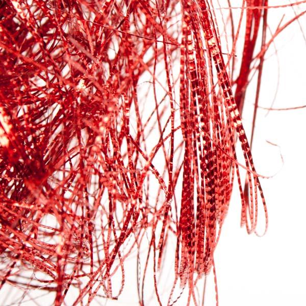 Red Metallic Angel Hair - 20g
