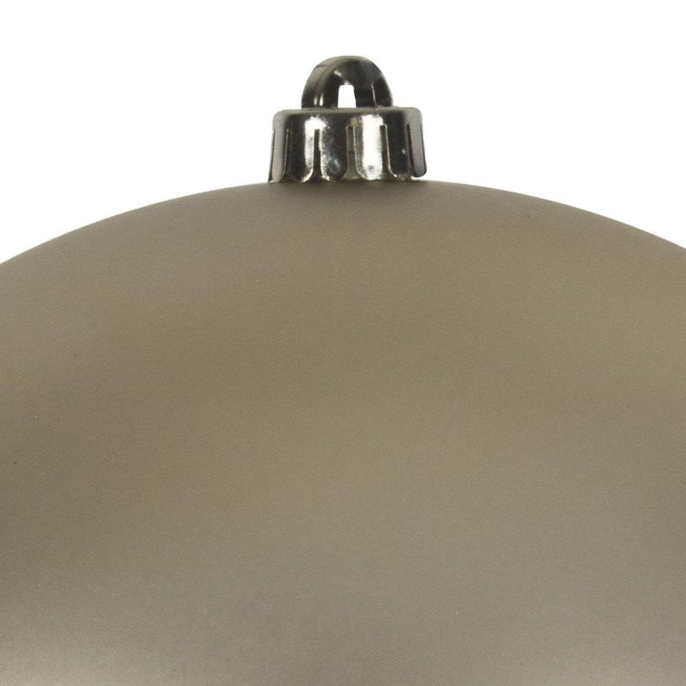 Champagne Gold Shatterproof Baubles  - Single 250mm Matt