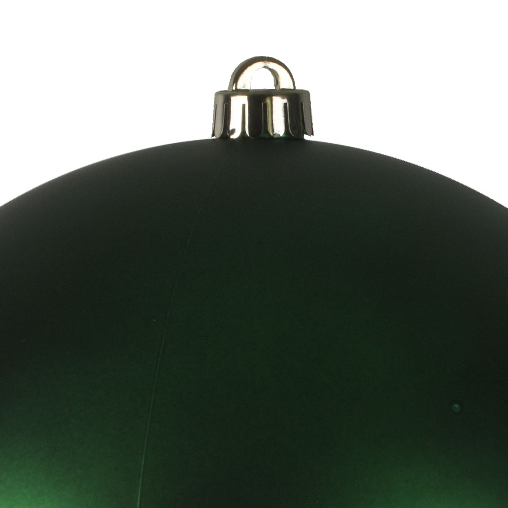 Green Shatterproof Baubles  - Single 250mm Matt