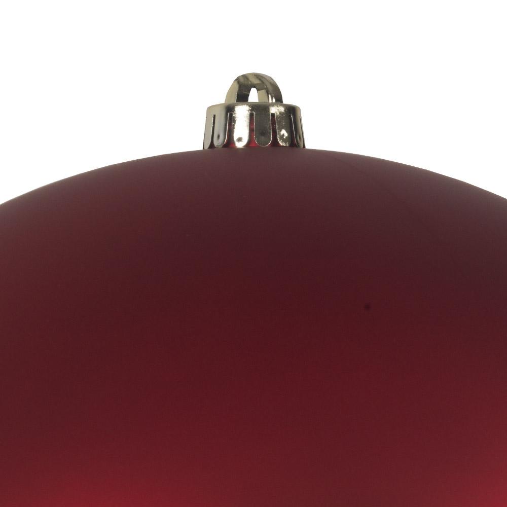 Red Shatterproof Baubles  - Single 300mm Matt