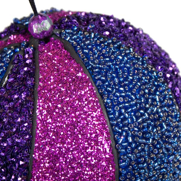 Multicoloured Sequin Bauble - 130mm (021-17915)