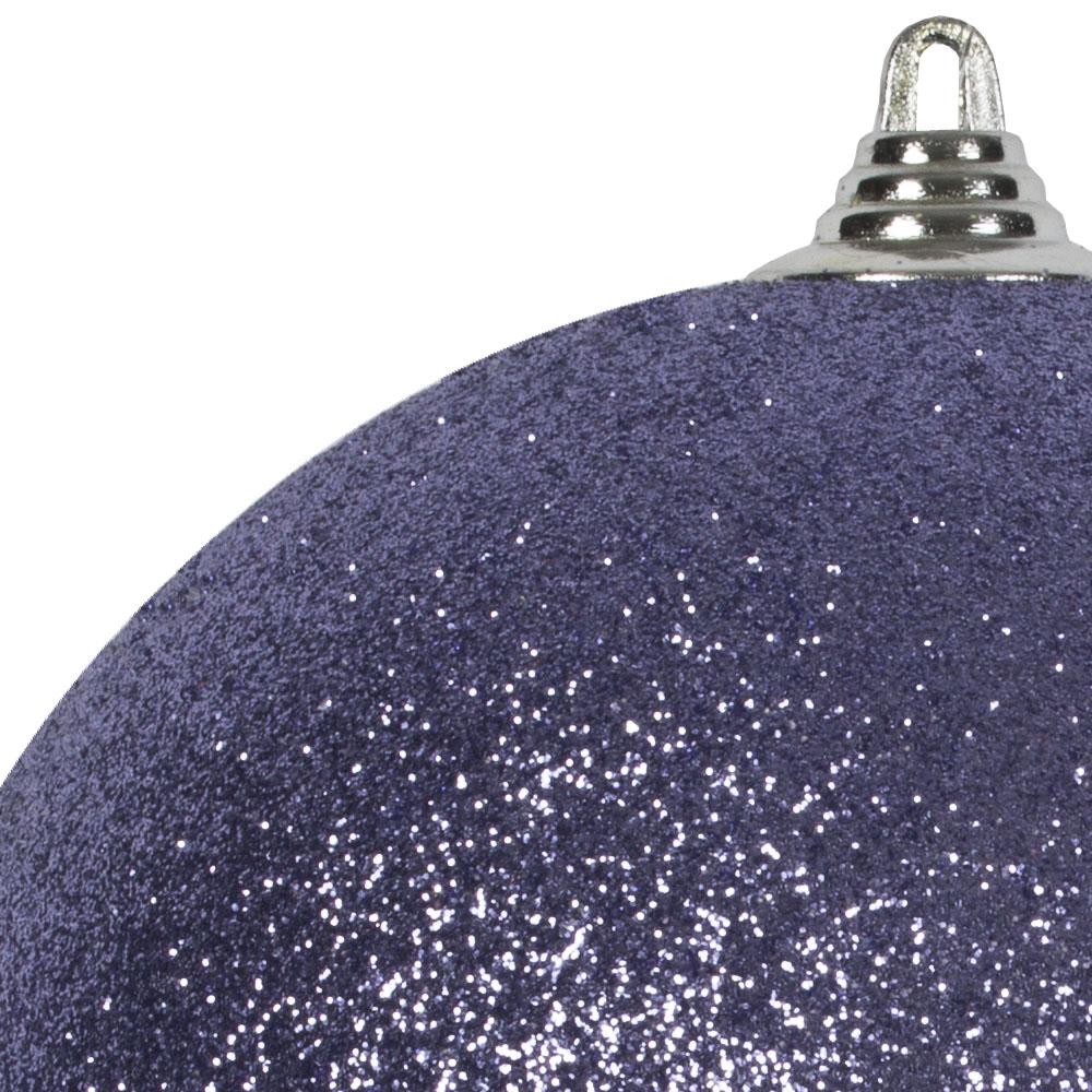 Purple Haze Shatterproof Glitter Bauble - 250mm