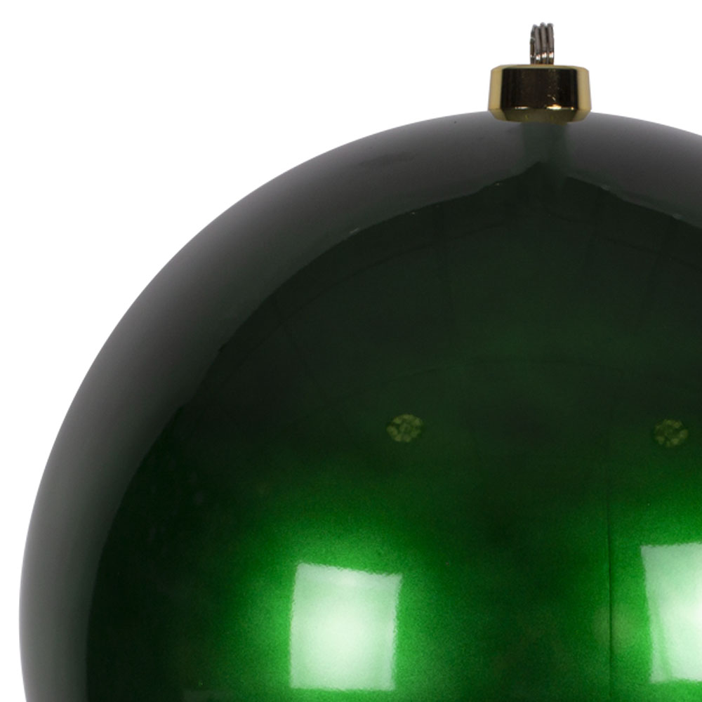 Green Metallic Finish Shatterproof Bauble - 500mm