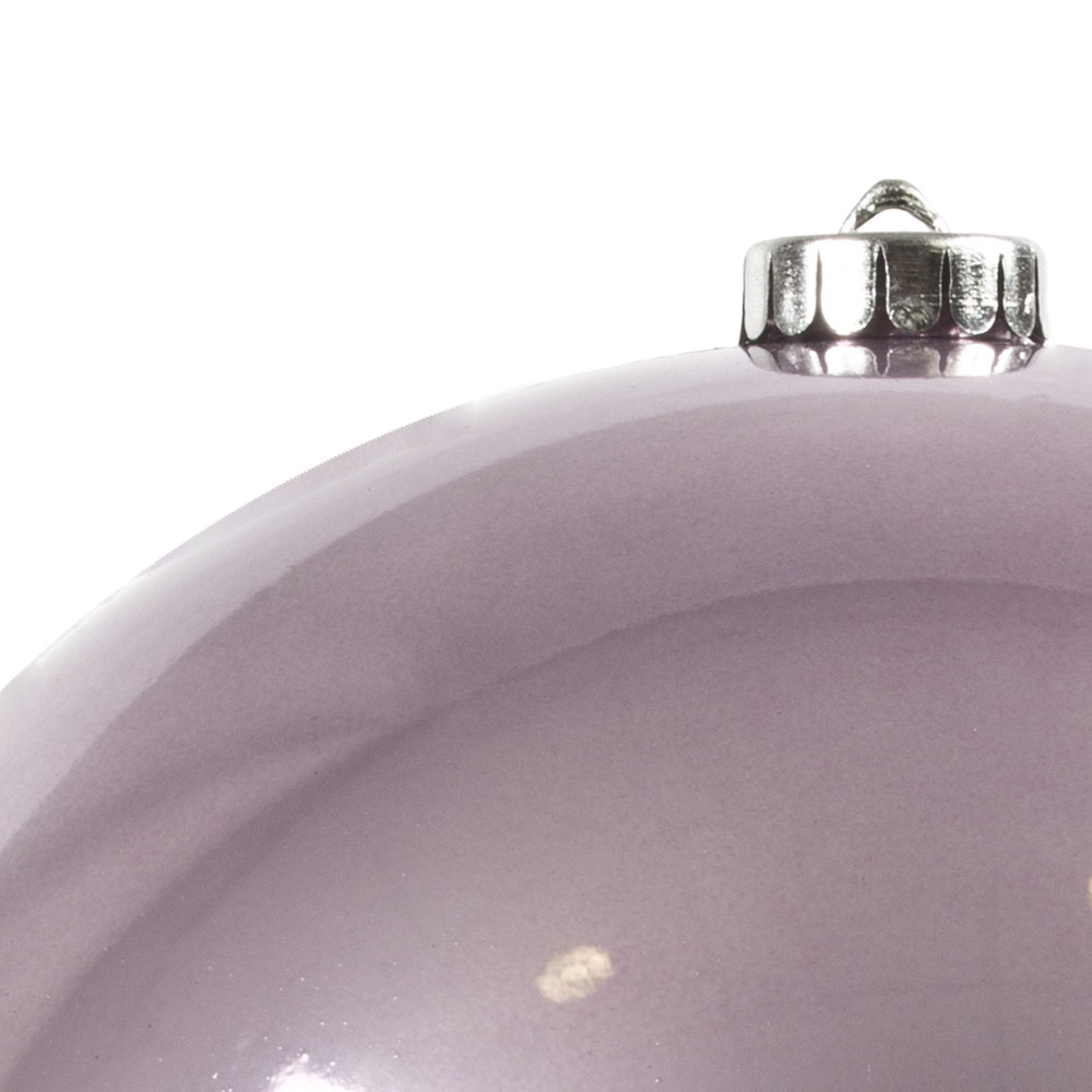 Cloudy Lilac Fashion Trend Shatterproof Baubles - Single 200mm