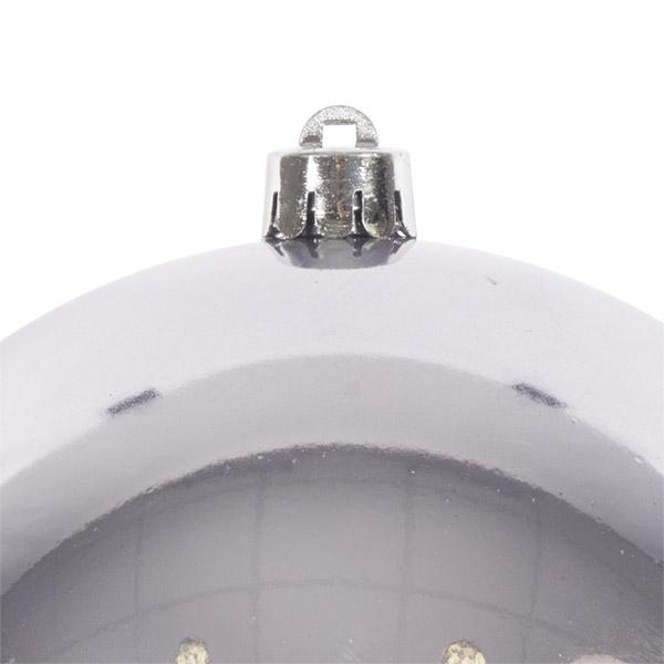 Lilac Mist Fashion Trend Shatterproof Baubles - Single 140mm