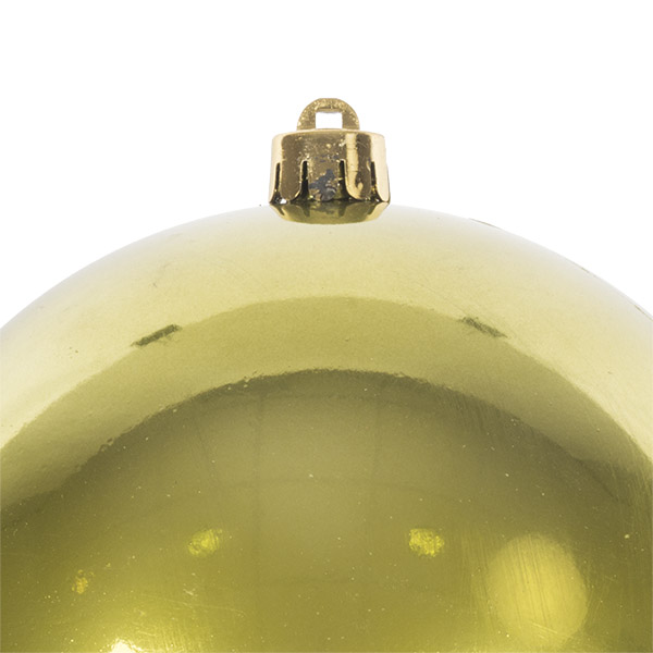 Olive Green Fashion Trend Shatterproof Baubles - Single 140mm
