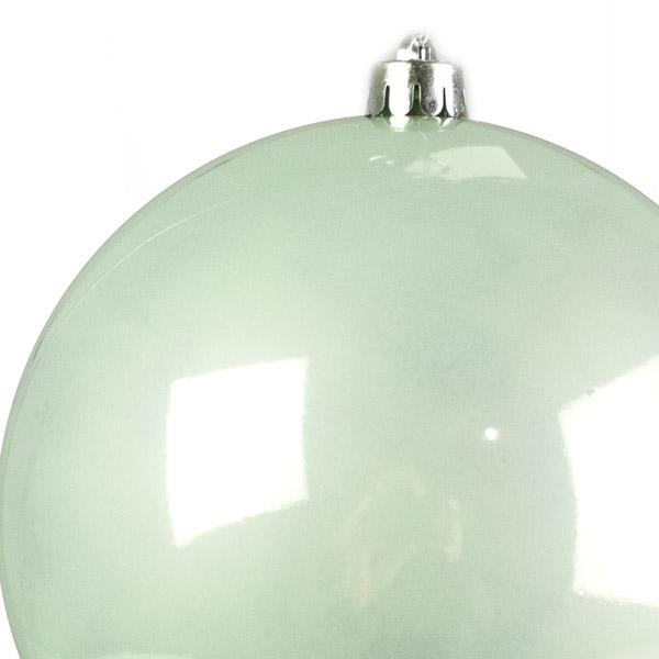 Pale Mint Fashion Trend Shatterproof Baubles - Single 200mm