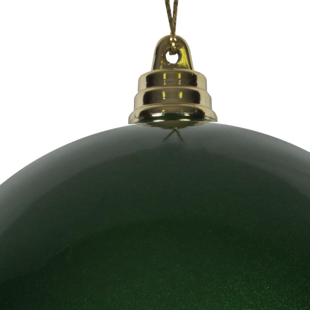 Green Metallic Finish Shatterproof Bauble - 100mm