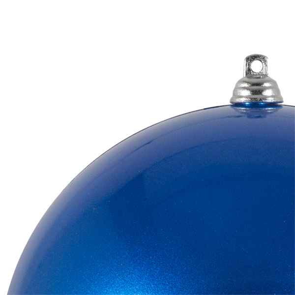 Blue Metallic Finish Shatterproof Bauble - 140mm