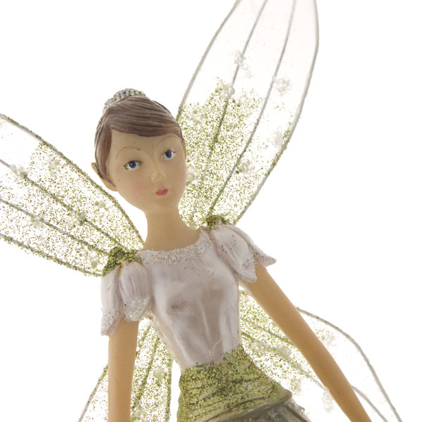 Gisela Graham Christmas Tree Topper: Gisela Graham Snowdrop Fairy Tree Topper