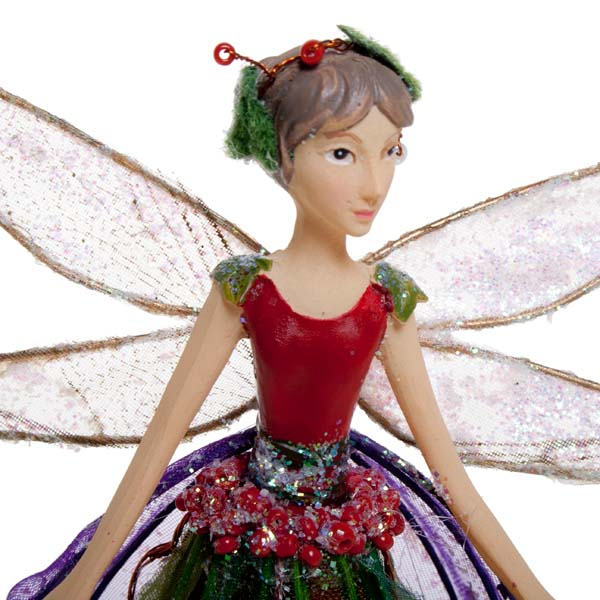 Gisela Graham Christmas Tree Topper: Gisela Graham Woodland Fairy Tree Topper