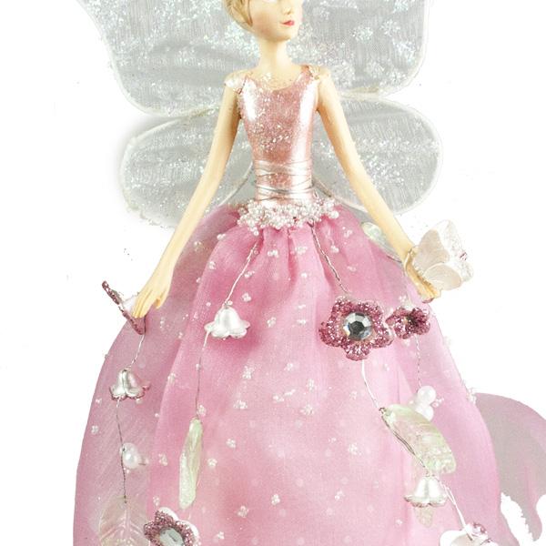 Gisela Graham Fairyland Tree Top Fairy - 28cm (024-26601-LG)