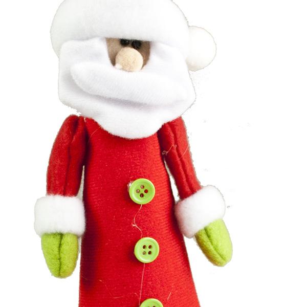 Felt Santa Character Tree Topper - 23cm (024-27178-SA)
