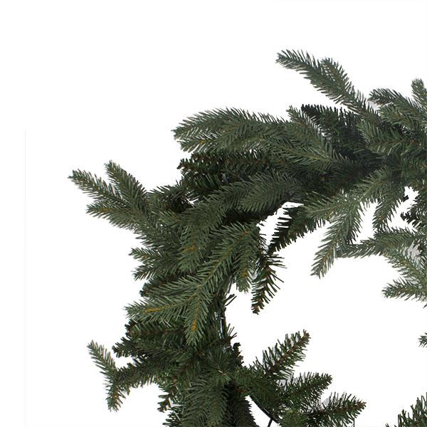 Aspen Green Foliage Wreath - 68cm