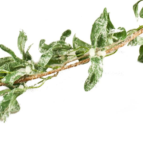 Frosted Mistletoe Garland - 1.8m (031-25670)