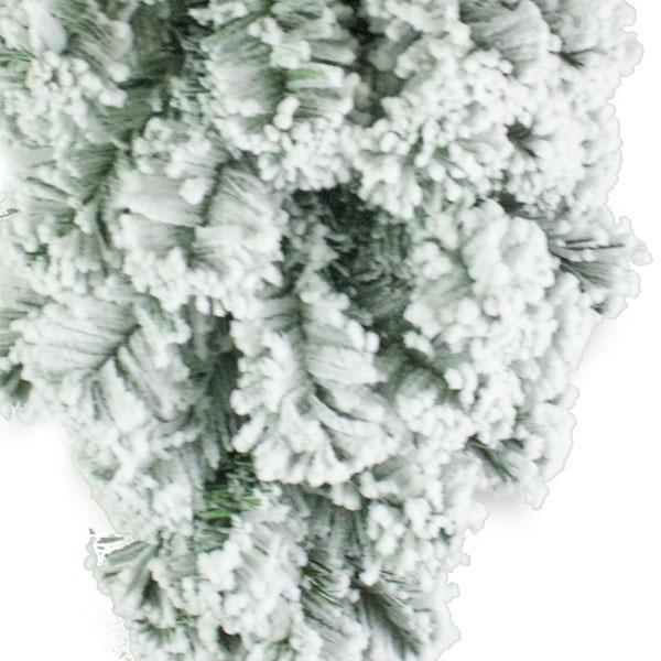 Artificial Green Pine Snow Effect Teardrop - 60cm