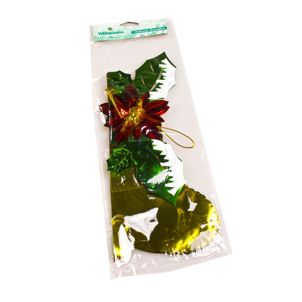 Gold/Red/Green Hanging Bell - 14
