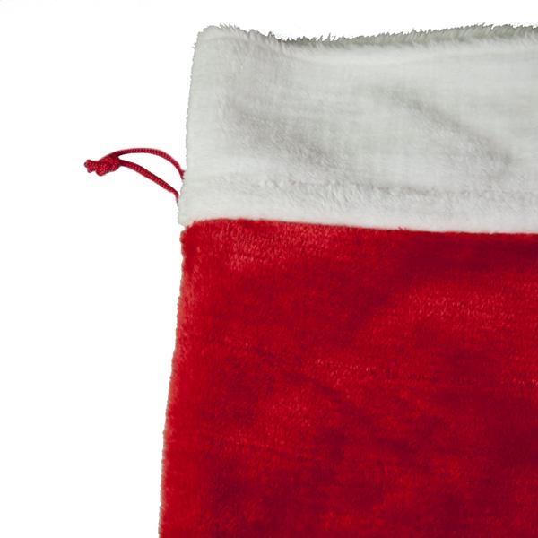 Plush Santa Sack - 50cm x 70cm (051-25397-MD)