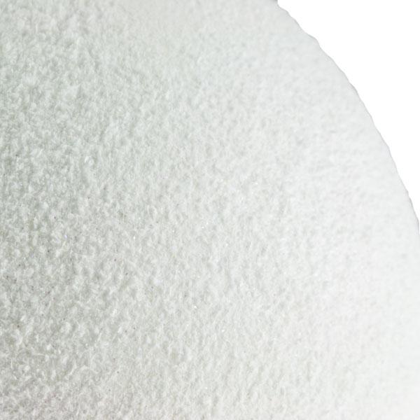 White & Silver Snowball Hanger - 25cm