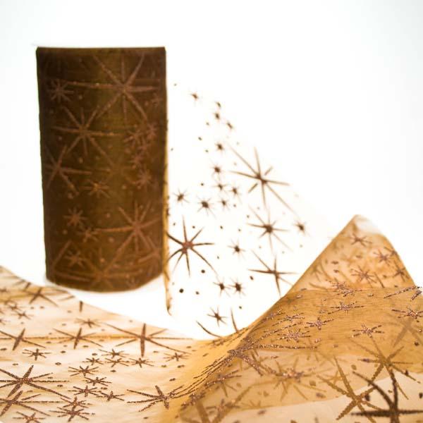 Brown Sky Ribbon - 10m x 125mm