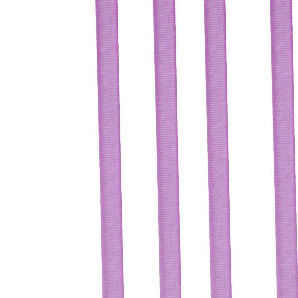 Pink Organza Woven Edge Ribbon - 3mm X 50m