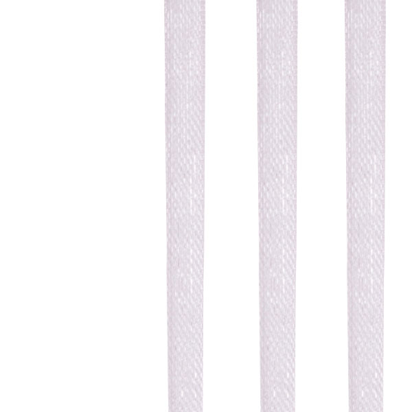 Rose Pink Organza Woven Edge Ribbon - 3mm X 50m