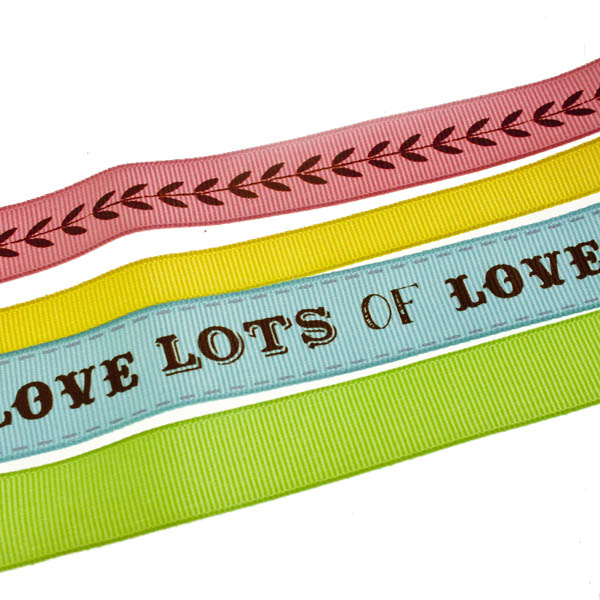 Talking Tables Pack Of 4 Bright Gift Wrap Ribbons - 1.5m