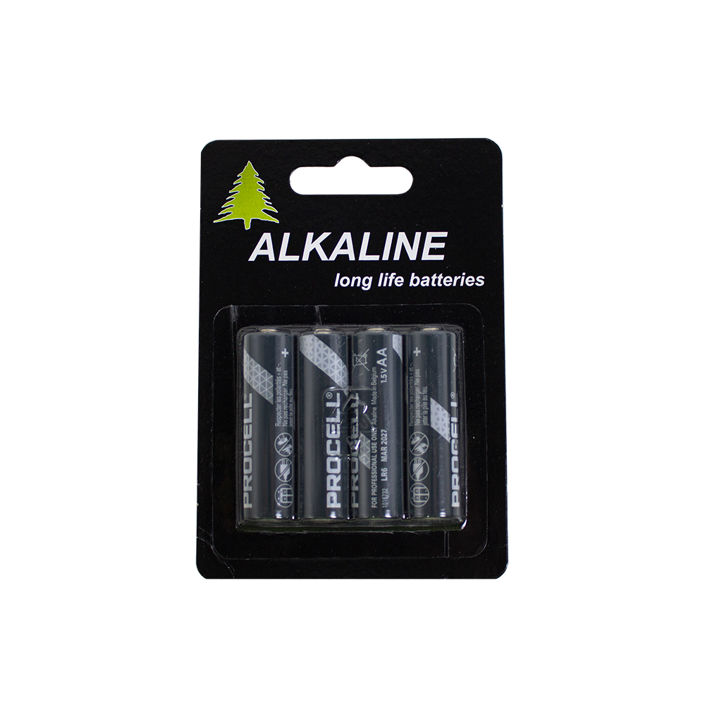 Duracell Batteries - 4 x AA
