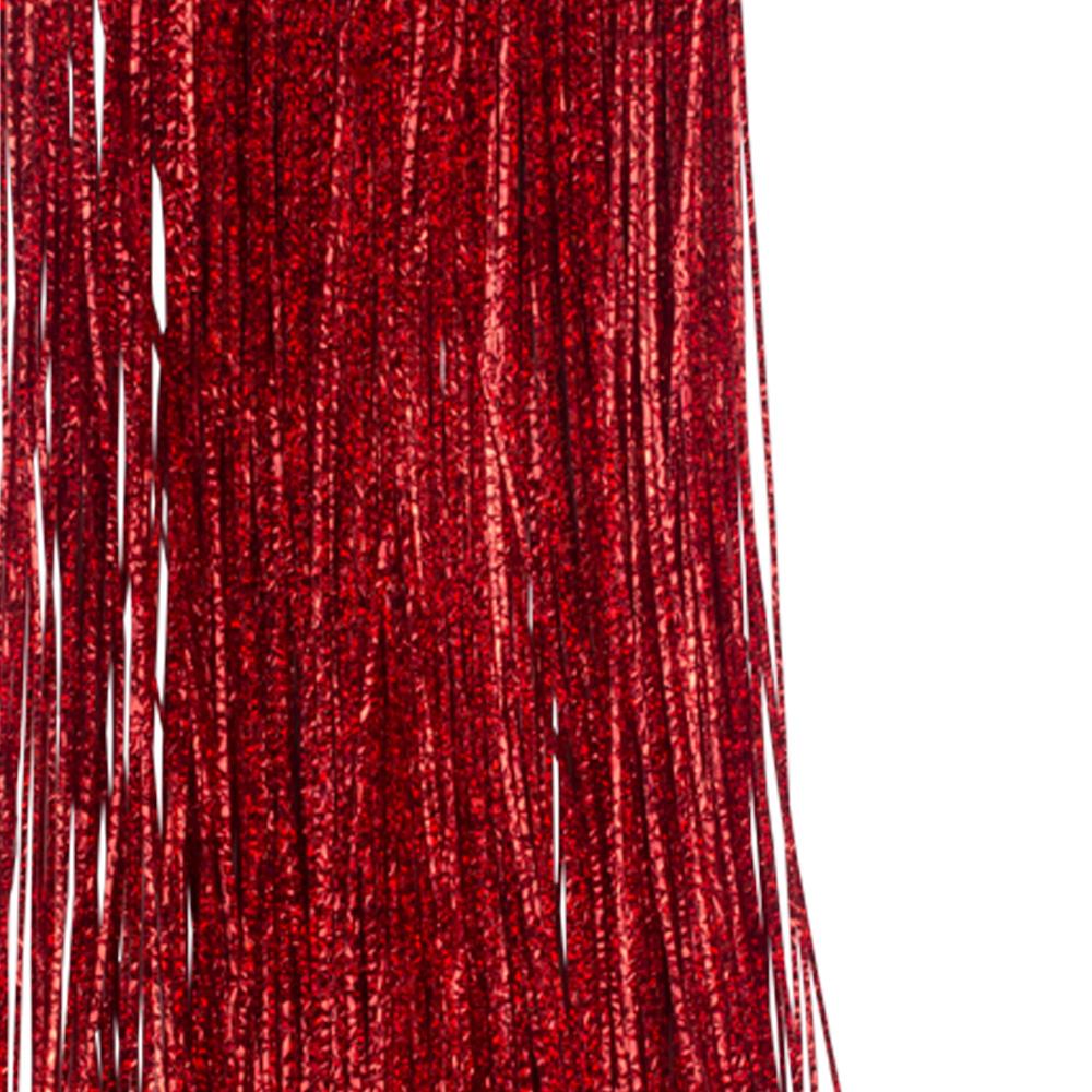 Red Laser Lametta - 50cm x 40cm