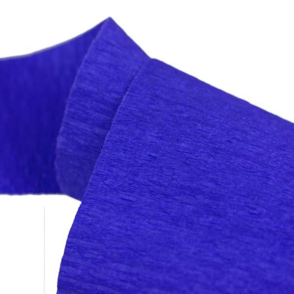 Dark Blue Crepe Paper Streamer - 10m