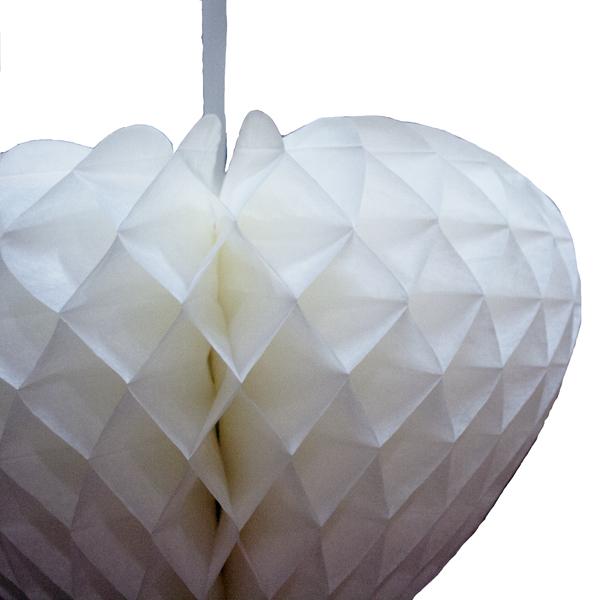 Paper Heart - 40cm x 44cm