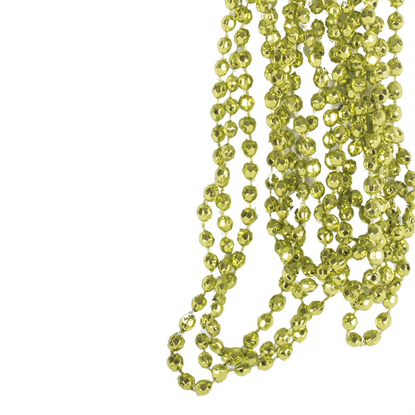 Olive Green Diamond Bead Garland - 2.7m
