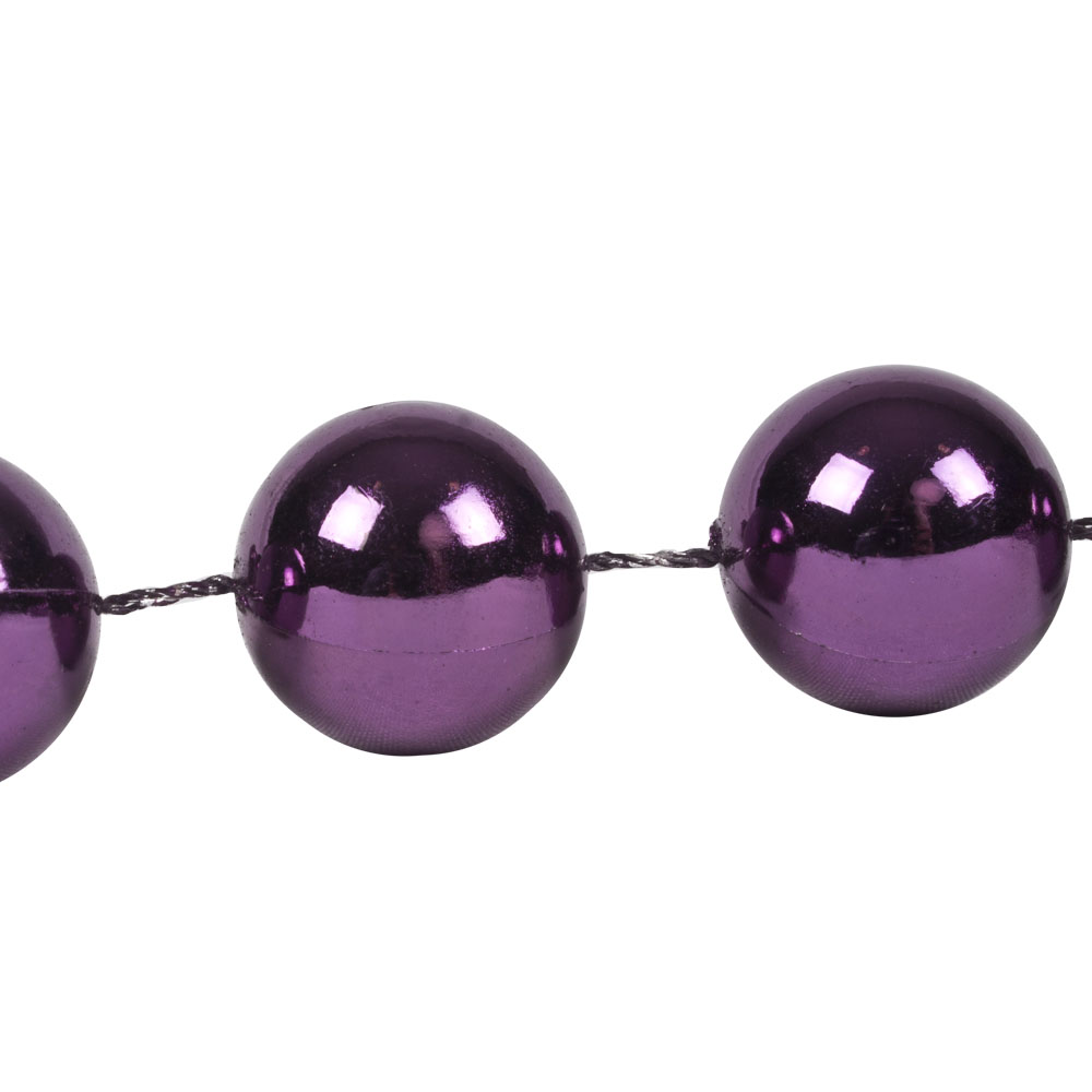 Deep Lavender Bead Chain Garland - 2.7m