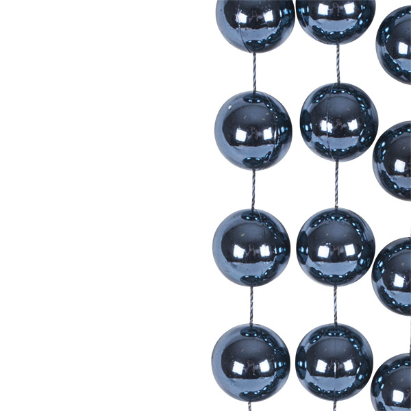Night Blue Bead Chain Garland - 2.7m