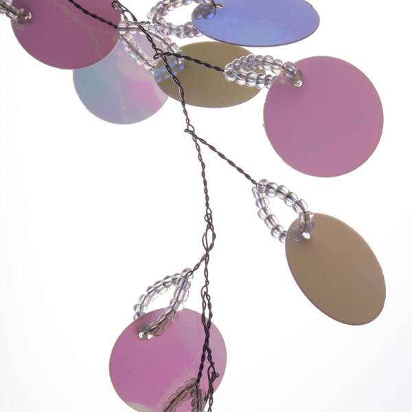 Iridescent Sequin Disc Garland - 1.8m