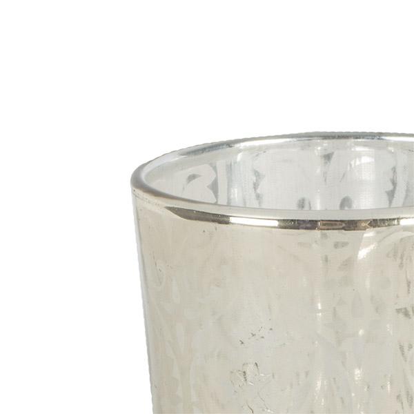 Gold Glass Tealight Holder - 70mm