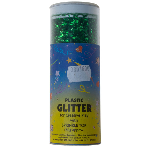 Pot Of Green Glitter - 150g