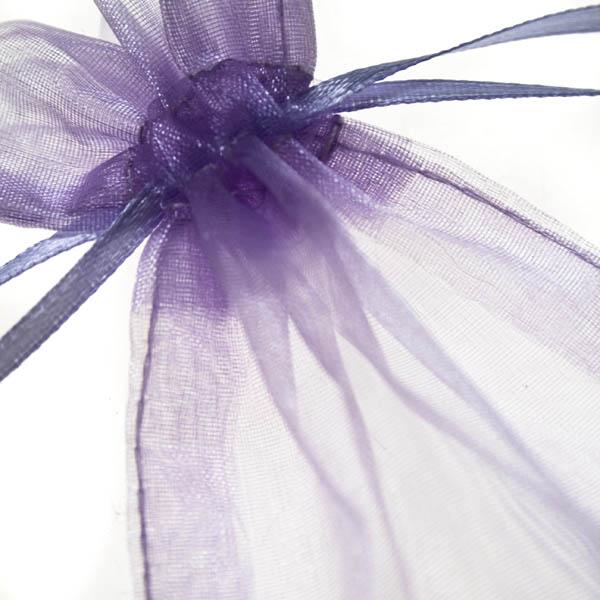 Lavender Organza Favour Bag - 3 X 4 Inch