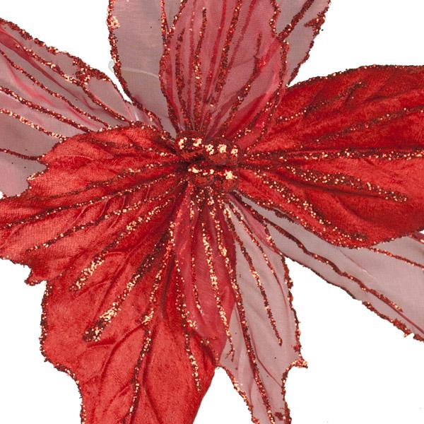 Large Red Flower Spray