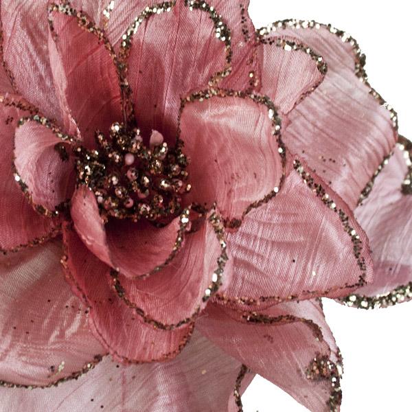 Mauve Decorative Flower - 15cm