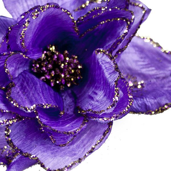 Purple Decorative Flower - 15cm