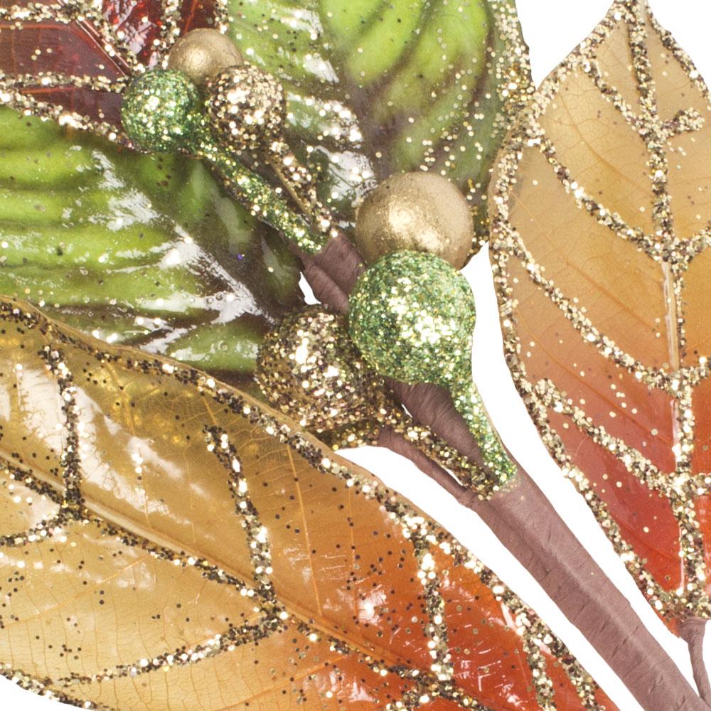 Leaf Spray On Clip - 28cm
