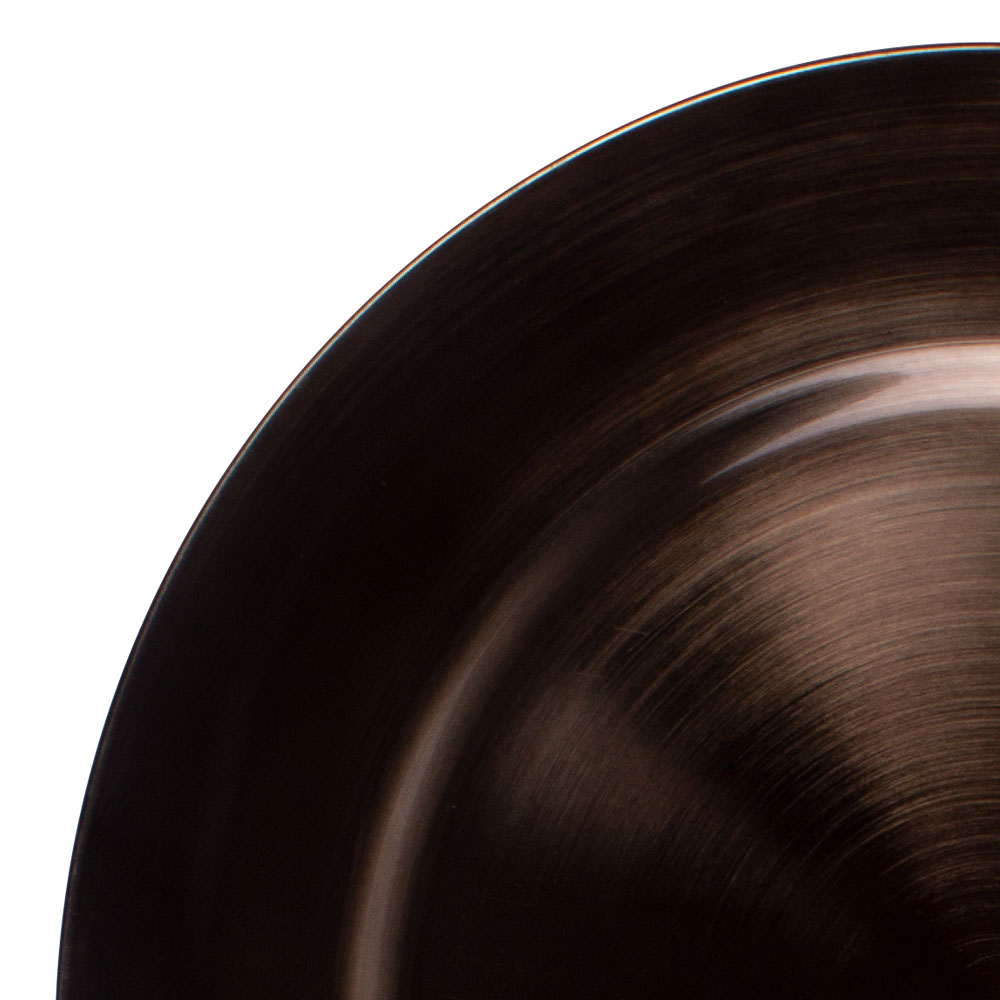 Standard Taupe Round Charger Plate - 33cm