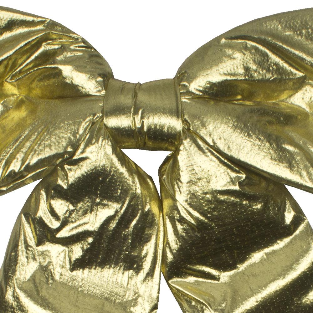 Gold Metallic Display Bow - 60cm