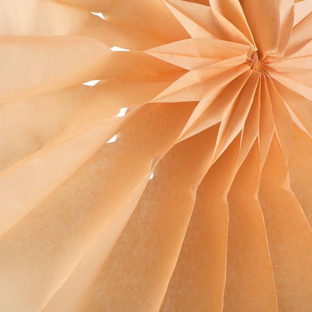 Paper Fan Collection - 30cm Orange