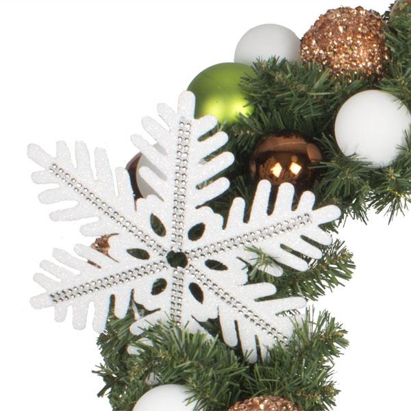 Winter Woodland Theme Range - 60cm Pre-Decorated Wreath