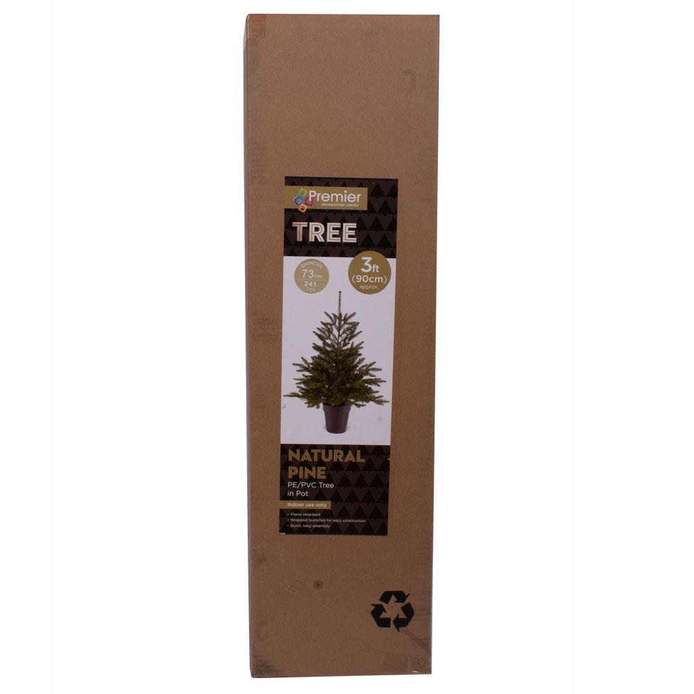 Artificial Pine Tree In Pot - 90cm